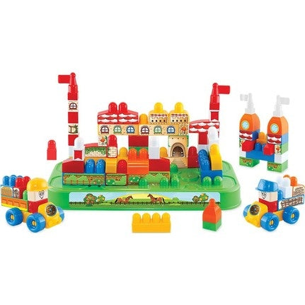 Image of Dede Brio Blocks Castle Set 100 Pieces-3342