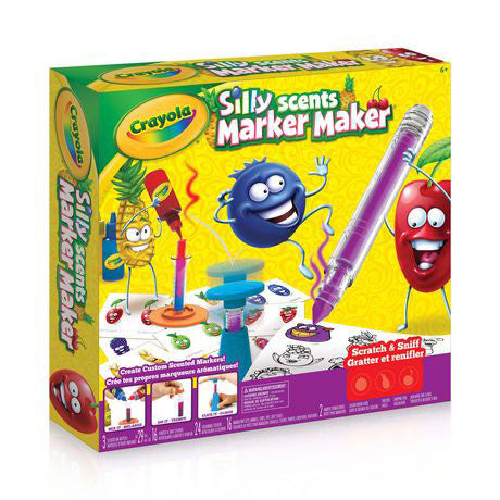 Image of Crayola Silly Scent Marker Maker -747240