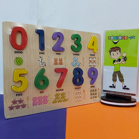 Wooden Learning Board 1-9