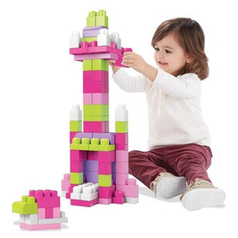 First Builders Big Building Bag (Pink)