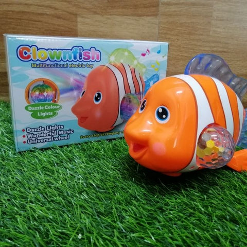 3D Clownfish With Light & Sound