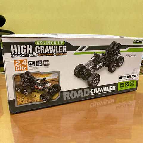 RC Rock Crawler RTR 6x6 with 2.4Ghz