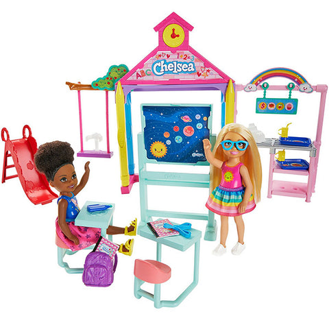 Image of Barbie Club Chelsea Playset