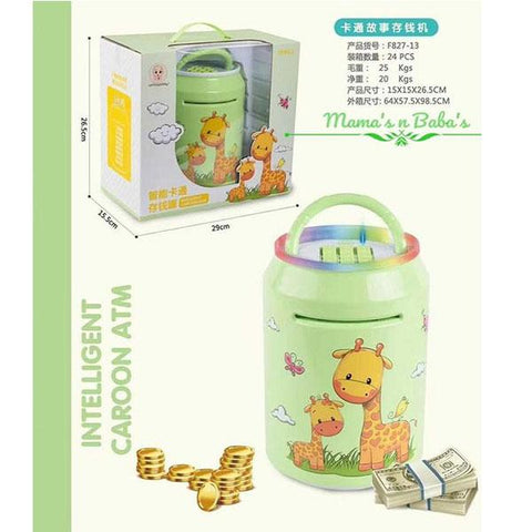 Image of Intelligent Cartoon ATM Money Box (Assortment) - TZP1
