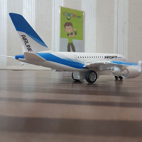 Die cast Sports Airplane