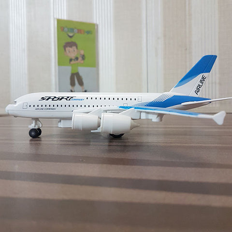 Image of Die cast Sports Airplane