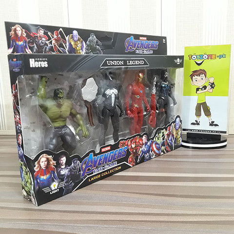 Image of Avenger Heros Union Legend 4 Figures Playset - STO