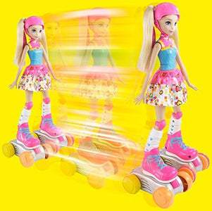Barbie Video Game Hero Remote Control Roller Skating Doll
