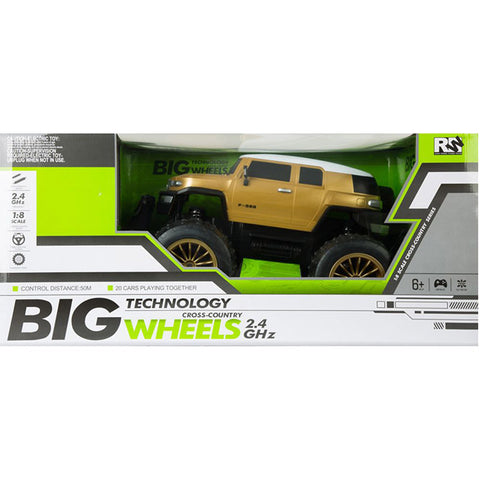 Big Wheels Technology Cross Country - RC FJ Cruiser
