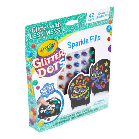 Image of Crayola Glitter Dots Sparkle Fills