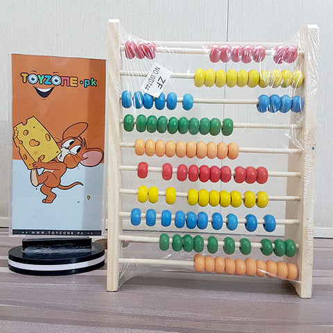 Wooden Calculating Rack