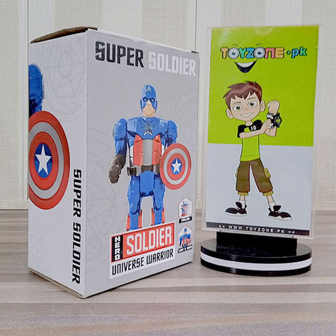 Captain America Light And Sound
