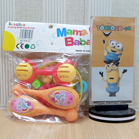Colorful Baby Rattles Set