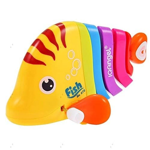 Rainbow Color Wind Up Fish