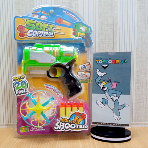 2 in 1 Soft Shooter And Copter Gun