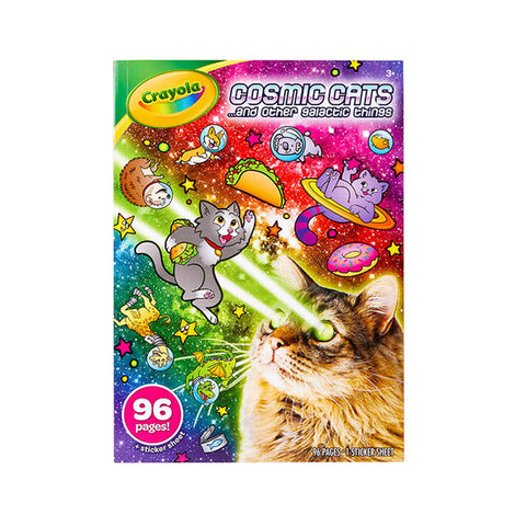 Image of Crayola Cosmic Cats Coloring Book