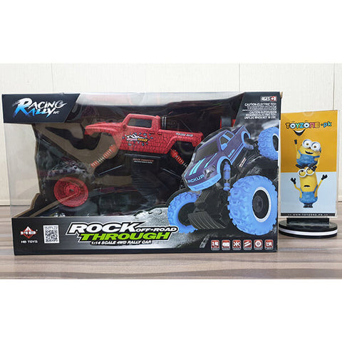 Image of RC Rock Off-Road Through 1:14 4WD Truck