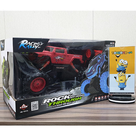 RC Rock Off-Road Through 1:14 4WD Truck