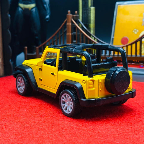 Diecast Wrangler Rubicon Jeep With Light & Sound