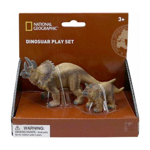 National Geographic Dinosaurs Prehistoric Baby Triceratops