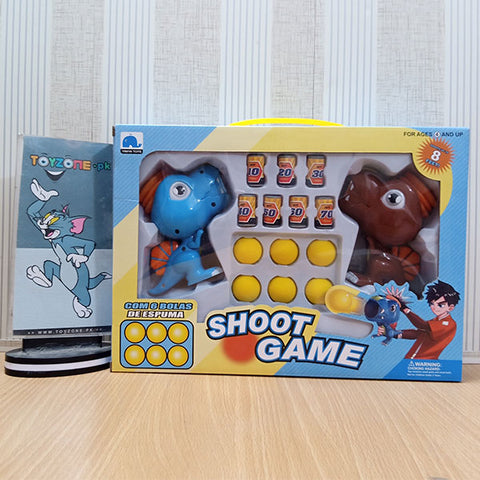 Dino Shoot Game