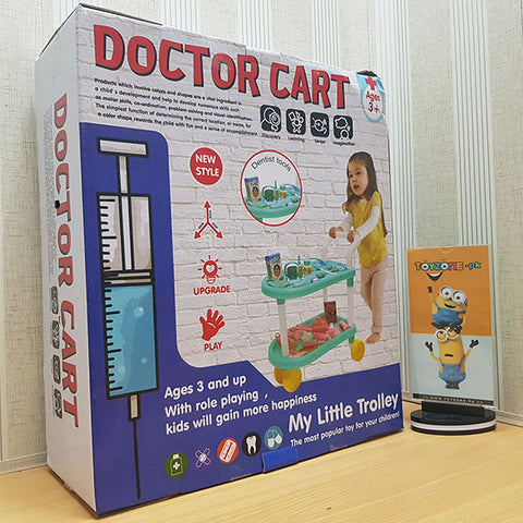 My Little Doctor Trolley Set