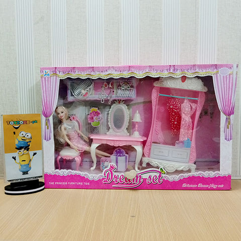 Doll Dream Set with Furniture Accessories