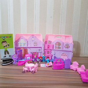 Battery Operated Family Doll House
