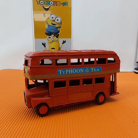 Metal Hand Made - Double Decker Bus