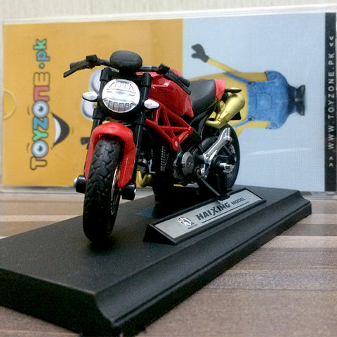 Die-cast Model 1:18 Scale Motorcycle Ducati Monster 696