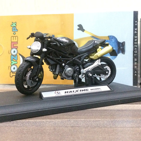 Image of Die-cast Model 1:18 Scale Motorcycle Ducati Monster 696