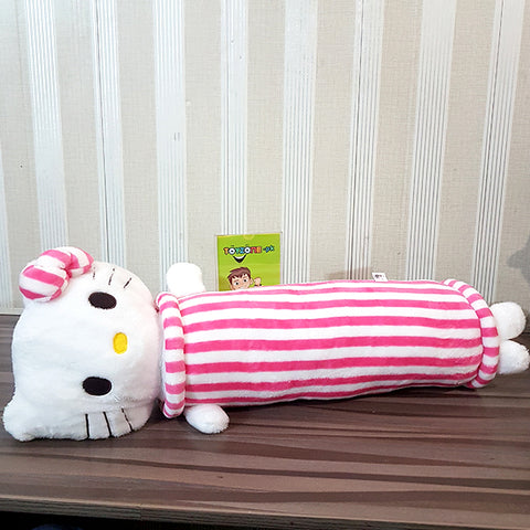Image of Duck Pillow- Stuffed ( White&Pink )