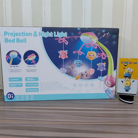 Projection & Night Light Bed Bell