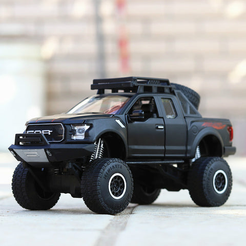 Image of Alloy Ford Raptor Emulated Big Wheels (Light And Sound)