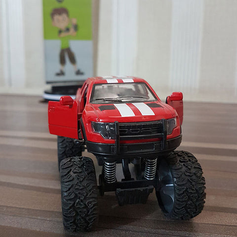 Image of Die-cast Big Wheels Ford Raptor 1:32