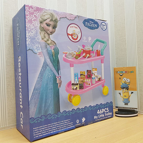 Frozen Restaurant Trolley Set