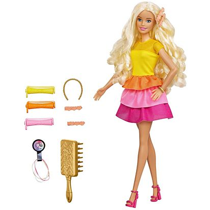 Barbie Ultimate Curl Playset