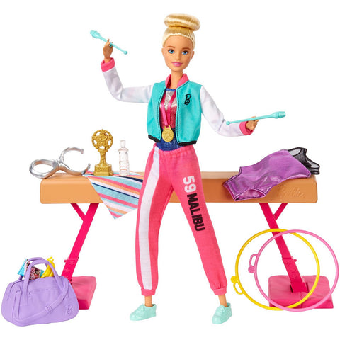 Barbie Gymnastic Playset