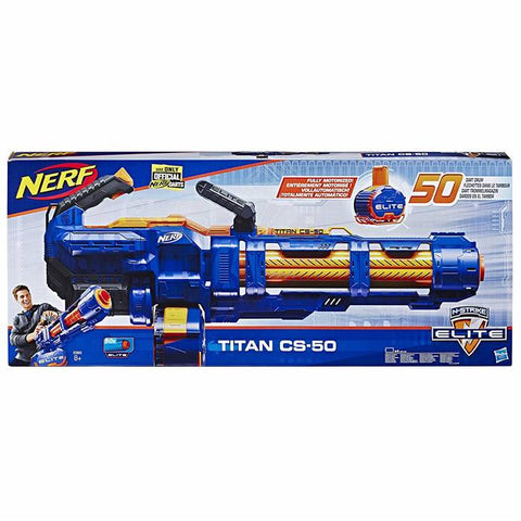 Image of Hasbro Nerf Elite Titan CS-50 Toy Blaster