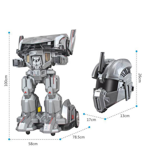 Transformer Mecha Knight Ride on