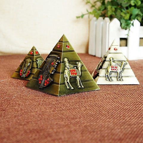 Image of Metal Souvenir - Pyramid Egyptian 3in1