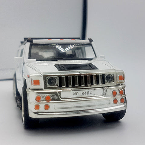 Metal Die Cast 6 Wheels Hummer Jeep