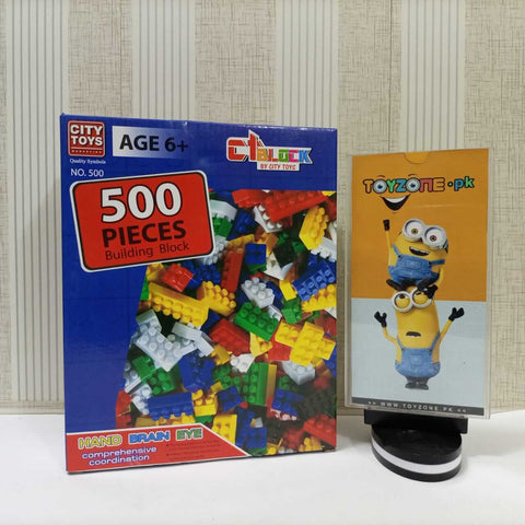 Building Blocks 500 Pieces Set