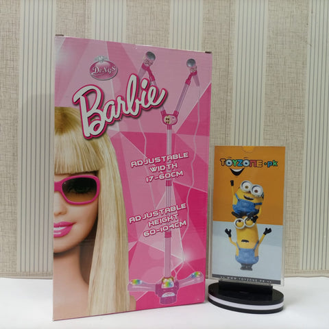 Dual Electric Barbie Adjustable Microphone With LED Lights