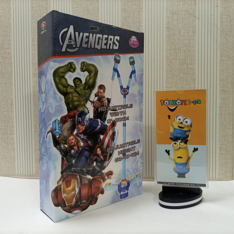 Image of Marvel Avengers 2 In 1 Microphone With LED Lights