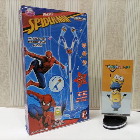 Amazing Spider-Man Double Chourus Microphone With LED Lights