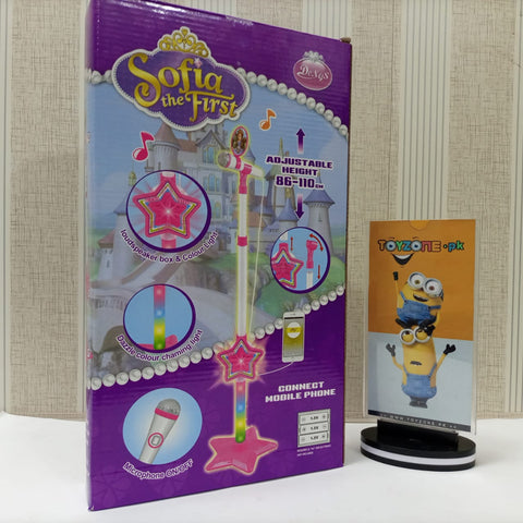 Sofia the First Microphone With LED Lights