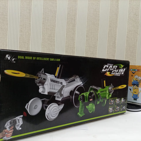 Blaster machine Car Gun 2 in 1