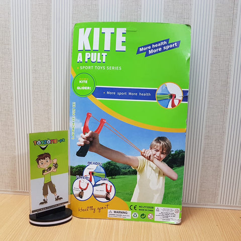 Image of Kite A Pull Vertical In Card