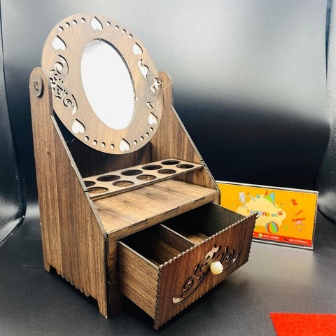 Image of Wooden Dresser & Jewelry Box - TZP1